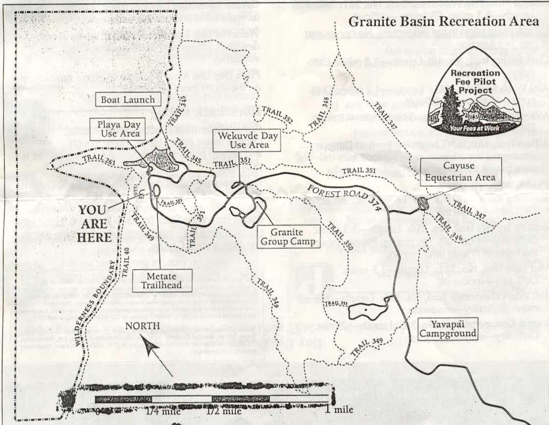 Az Granite Basin Trail Review