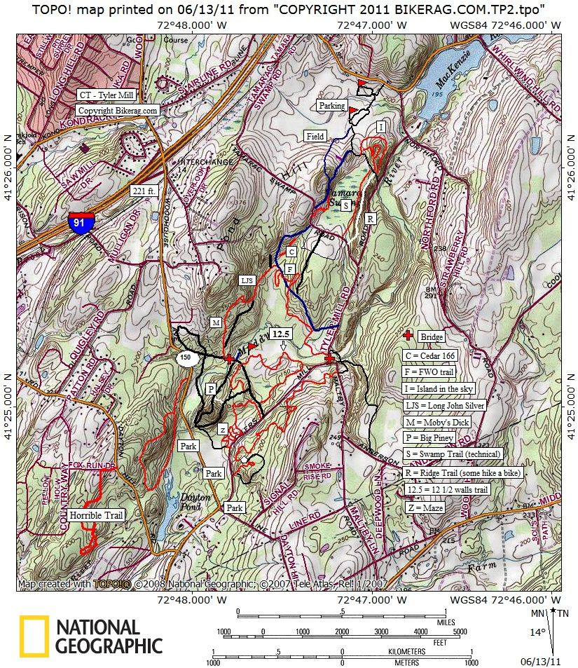 CT Tyler mill trail review