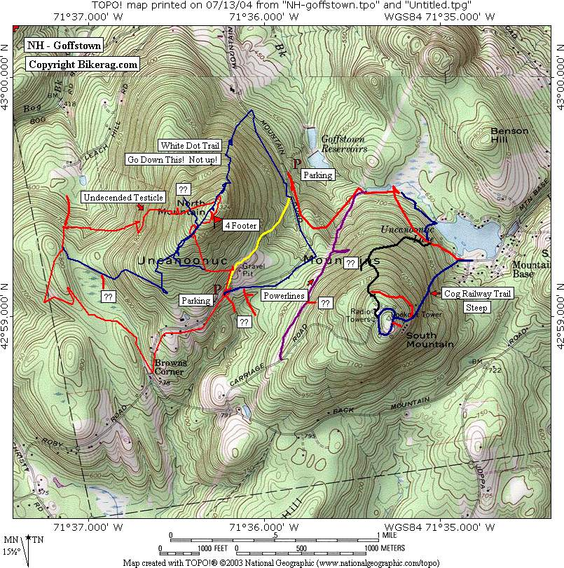 Goffstown nh Trail review page